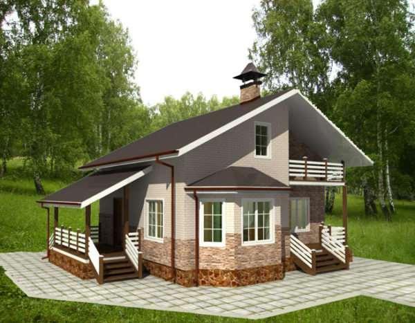 Качественные дачные дома от компании usadba.in.ua