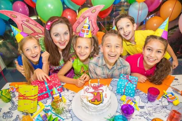 Яркое и веселое празднование детского дня рождения