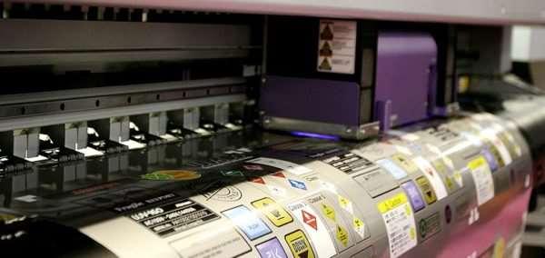 Высококачественная печать наклеек от компании radiuss.com.ua