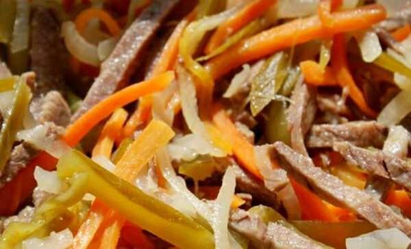 Как правильно готовить «Питерский» салат?