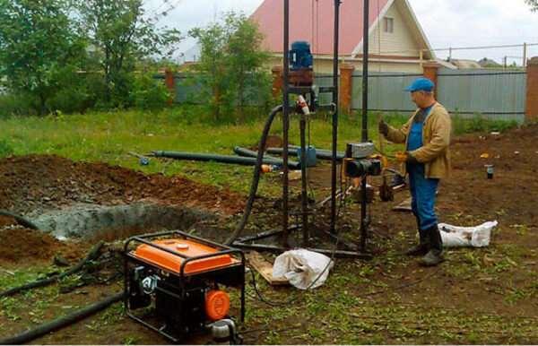 Технология бурения скважин под воду: общая информация