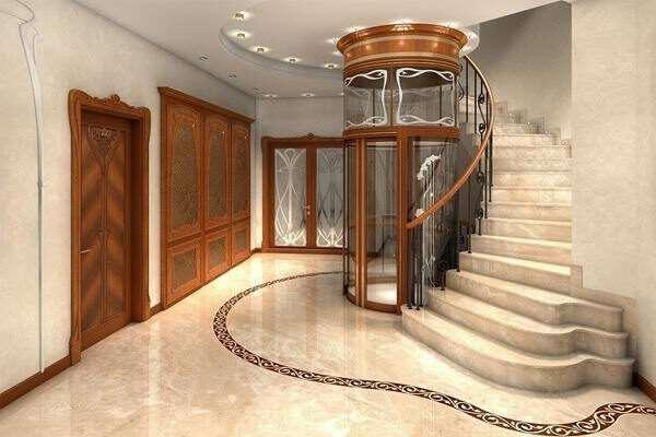 Лифт для загородного дома – повышение удобства перемещения между этажами