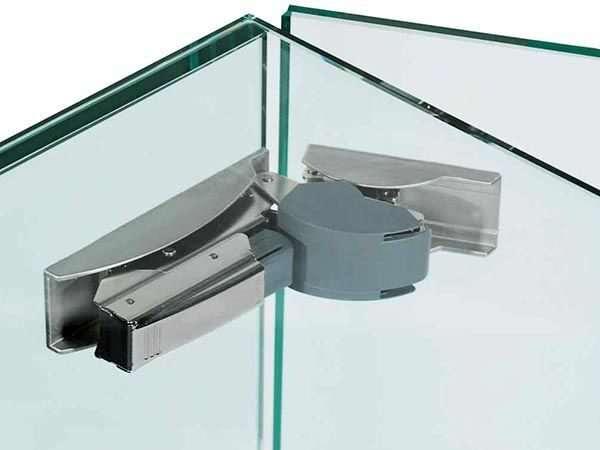 Фурнитура для стекла: материалы, конфигурация, модификации