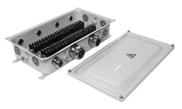 Технические характеристики бюджетных коробок с наборными зажимами КЗНС
