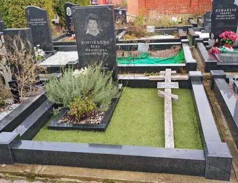 Что входит в процедуру уборки могил на кладбище?