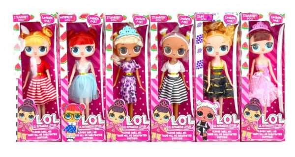 Новый тренд у детей: куклы лол