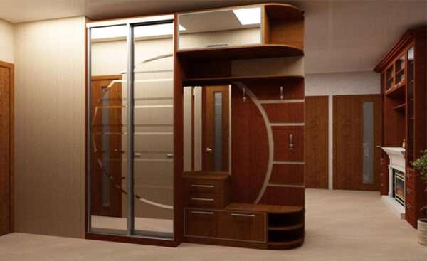 Шкаф в прихожую — эргономичность и эстетичность