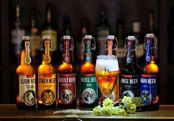 Бутылочное крафтовое пиво — приятный вкус и польза