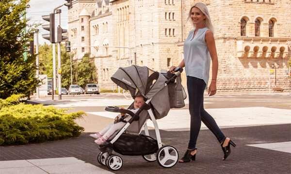 Комфортные прогулки с малышом – коляска на лето