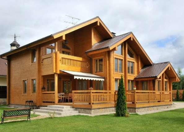 Строительство домов из бруса — всегда быстро и надежно
