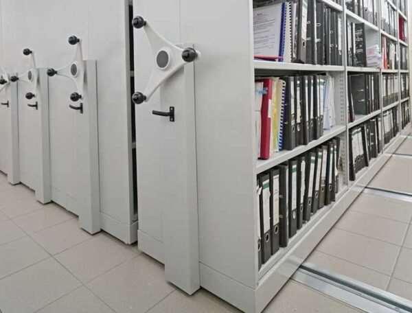 Архивные стеллажи металлические — оптимизация пространства