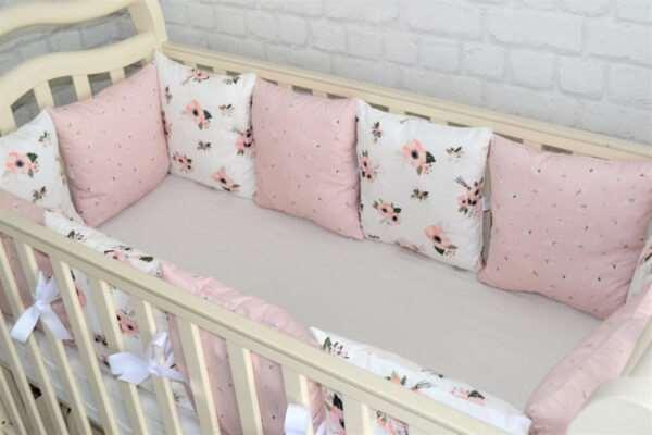 Бортики в кроватку — комфорт и безопасность