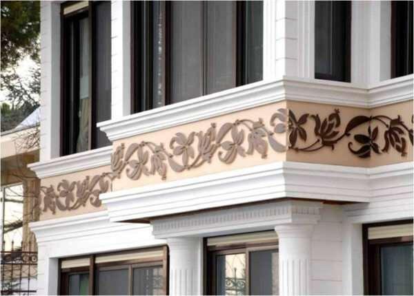 Значение фасадного декора в оформлении зданий