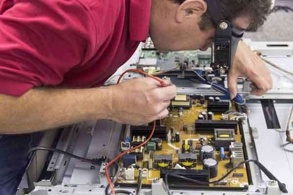 Этапы проведения ремонта ТВ специалистами