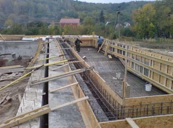 Основные разновидности бетонных работ