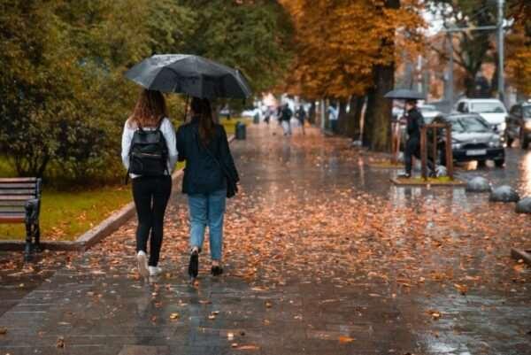 Изменение погоды в Украине