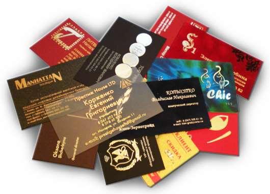 Способы печати визитных карточек