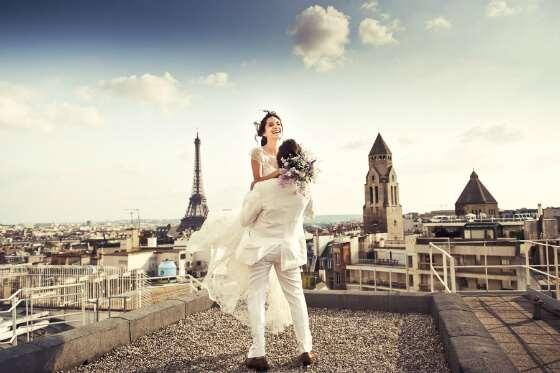 Свадьба в Париже: реальные возможности современного времени